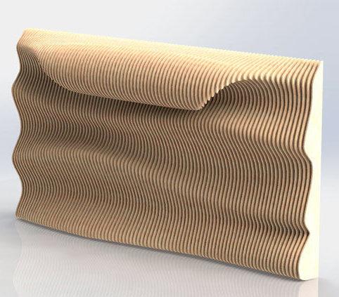 Параметрический дизайн: настенное панно