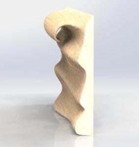 Параметрический дизайн: настенное панно 9 вал