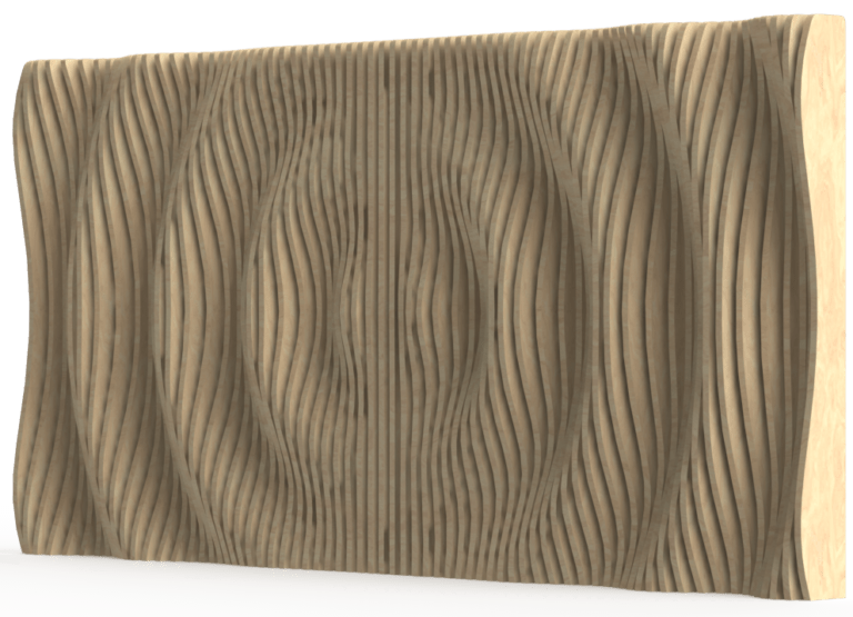 Decorative parametric wall