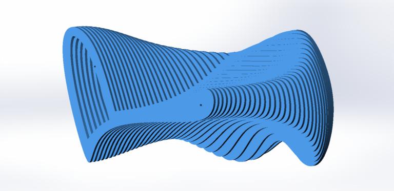 Проектирование параметрического дивана