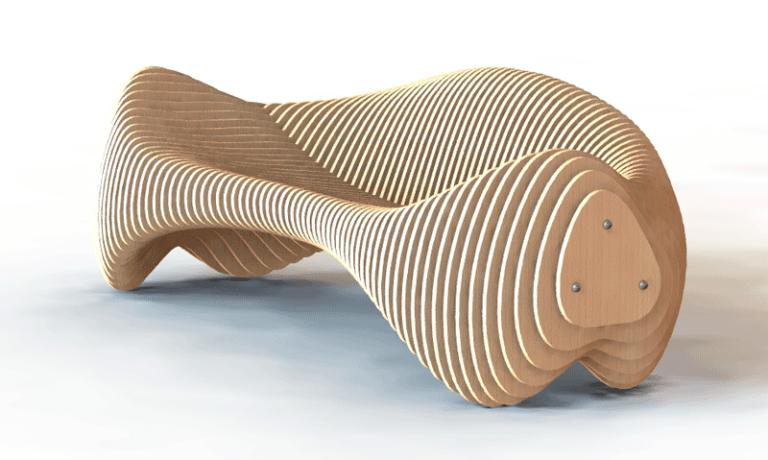 Parametric sofa