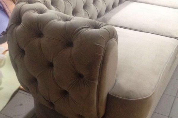Sofa made according to my drawings