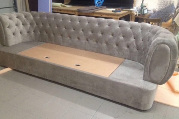 Sofa made from my drawings