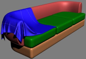 [: RU] 3d model of Divan [: en] The three-dimensional model of the sofa [: il] המודל התלת-ממדי של הספה [:]