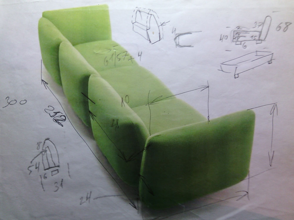 (English) The task for the design of the sofa